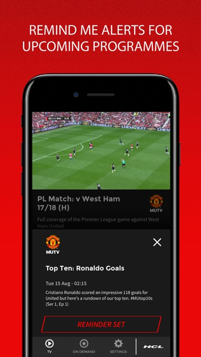 MUTV - Manchester United TVスクリーンショット