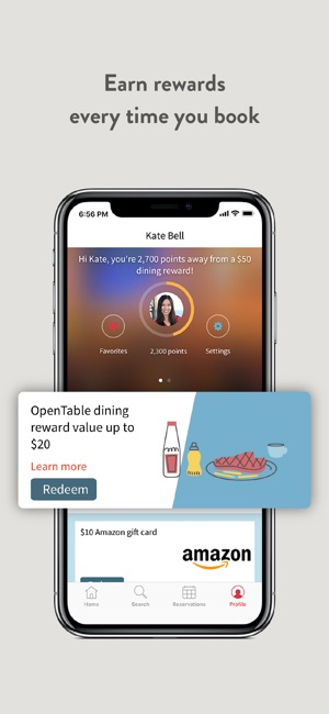 OpenTable On The App Store - Table reservation app