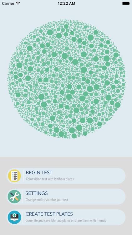 Color Vision Test Lite screenshot-0