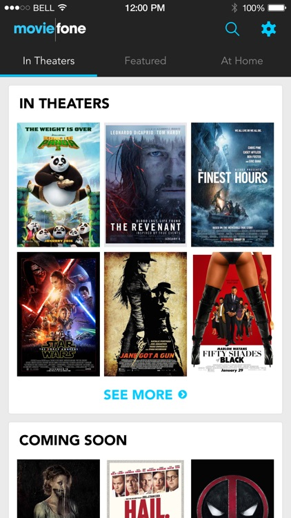 Moviefone screenshot-0