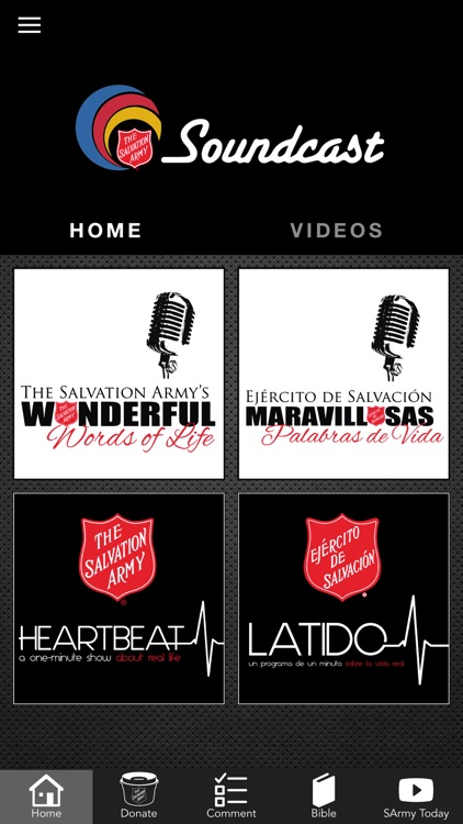 Salvation Army Soundcast