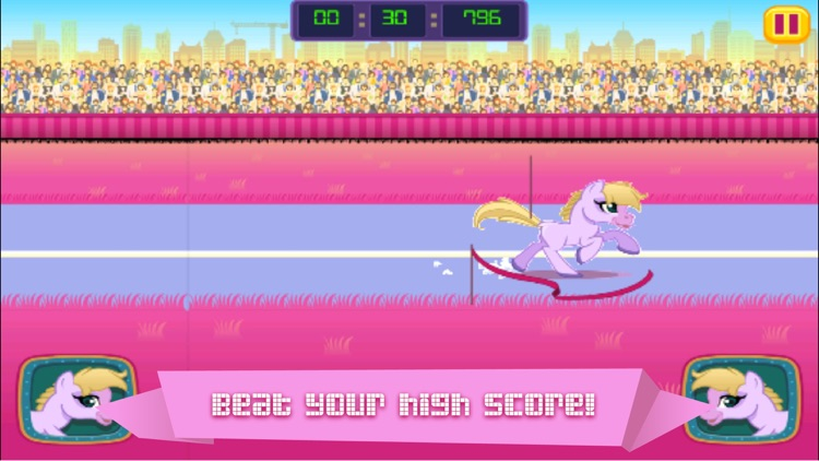 Little Virtual Pony Run Story