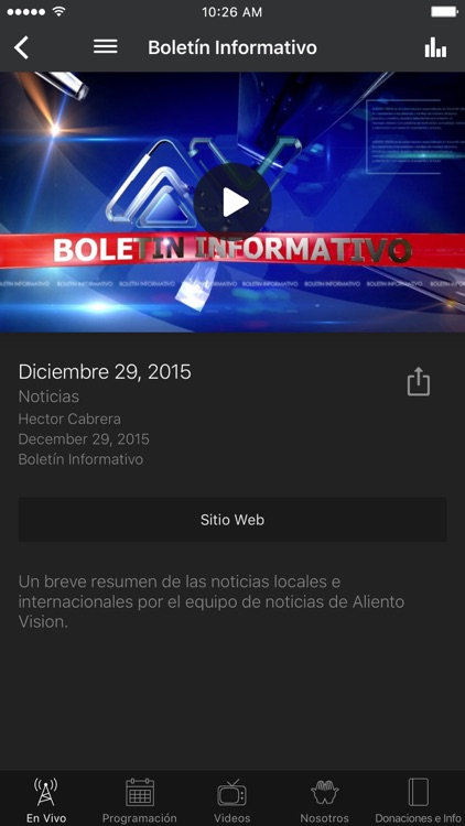 Aliento Vision TV Network