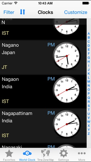 World clock goldtime zones on the app store gumiabroncs Image collections