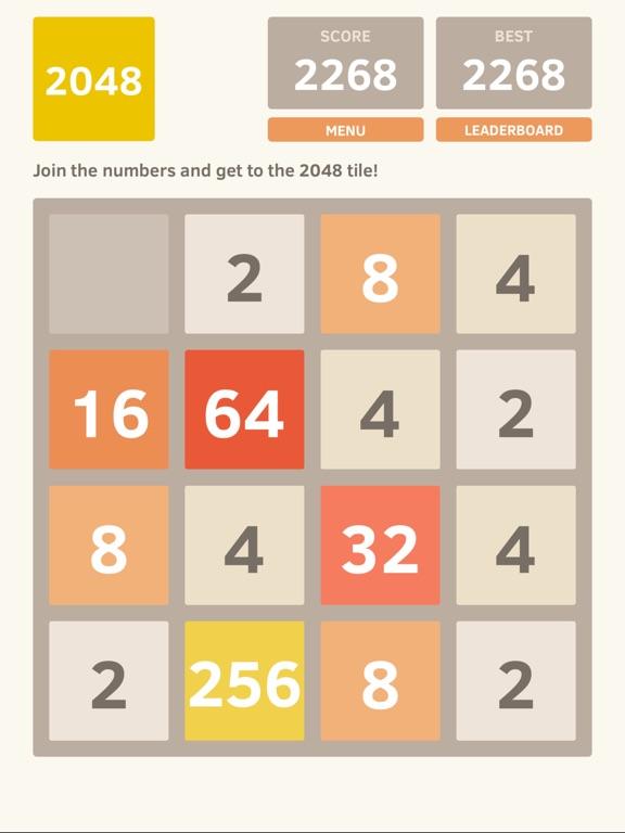 Screenshot #1 for 2048