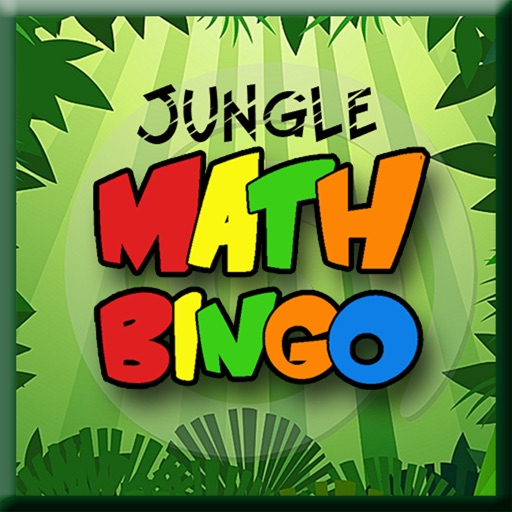 Jungle Math Bingo