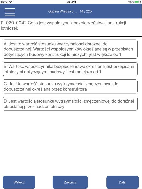 Egzamin ULC PPL(A) screenshot 10