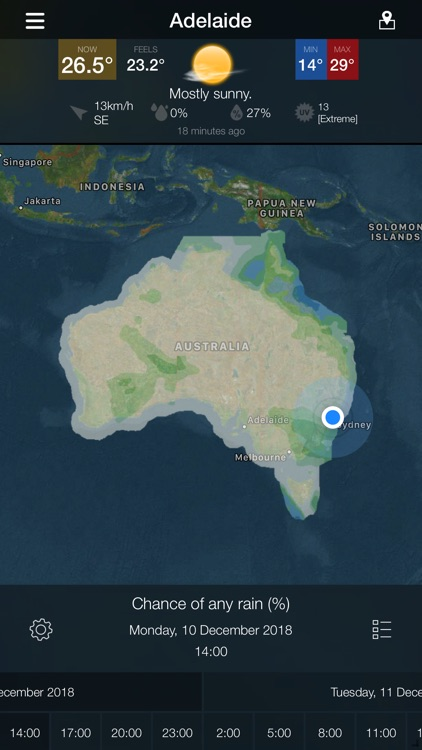 AUS Radar: WeatherAlert screenshot-6