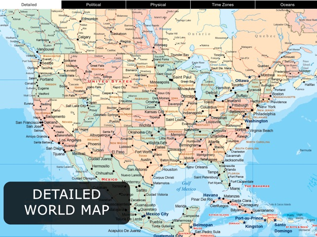 World Map Pro For Ipad On The App Store