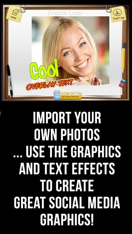 Logo Maker and Graphics Creator screenshot-3