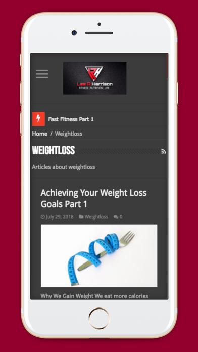 LRH Fitness screenshot one