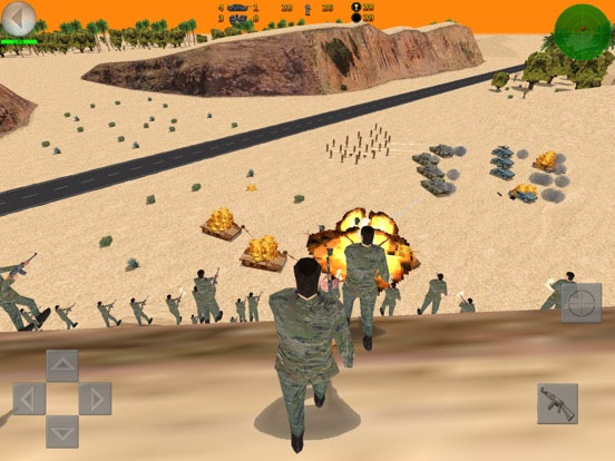 Desert War 3D - Tactical game на iPad
