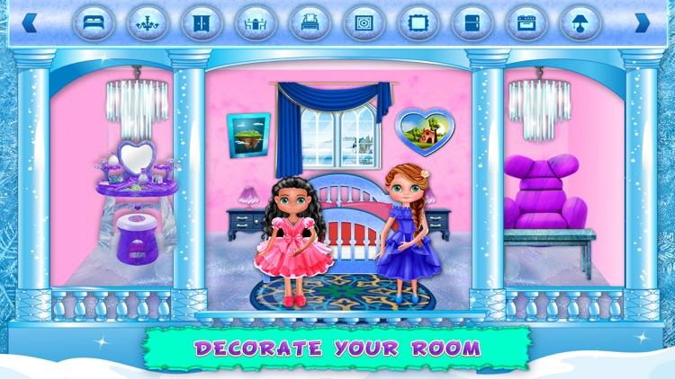 Ice Doll House Decoration Home screenshot-4
