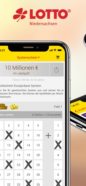 eurojackpot und lotto spielen im app store. Black Bedroom Furniture Sets. Home Design Ideas