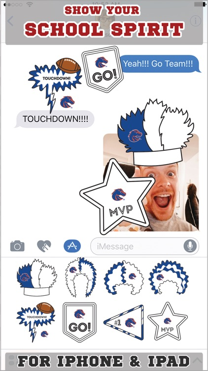 Boise State Broncos Stickers Basic