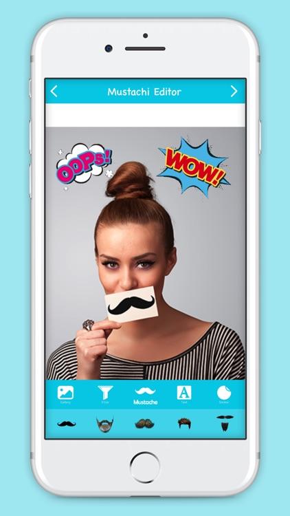 Mustachi Photo Editor screenshot-3