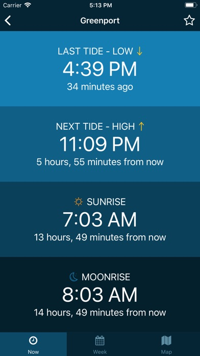 Screenshot for Tides Near Me - No Ads in United States App Store