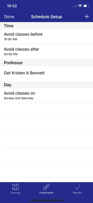 college schedule builder on the app store