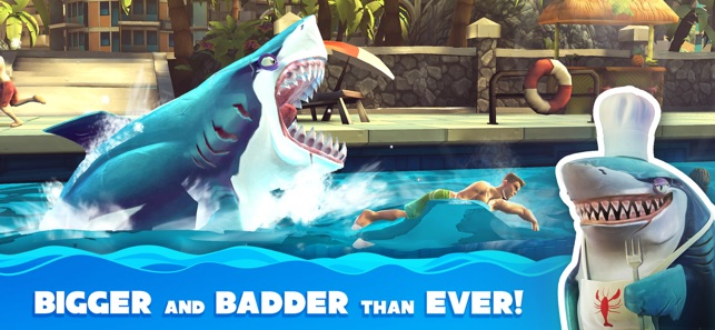 hungry shark world on the app store screenshots