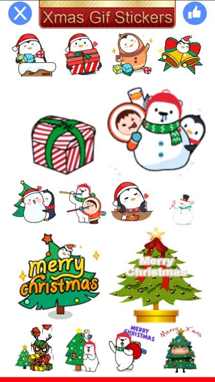 Xmas Gif-Christmas Gif Sticker