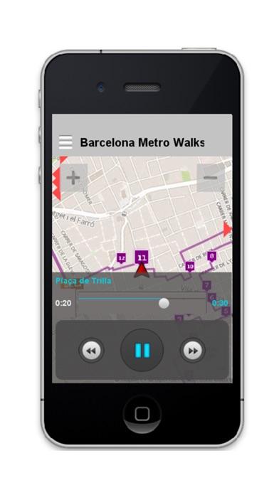 Barcelona Metro Walks - EN screenshot two