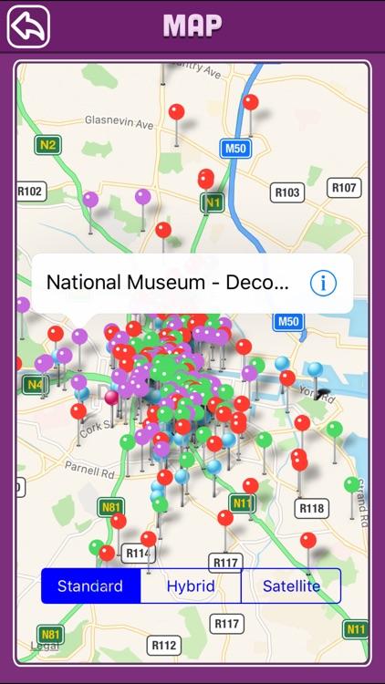 Dublin Offline Map Tourism Guide screenshot-3