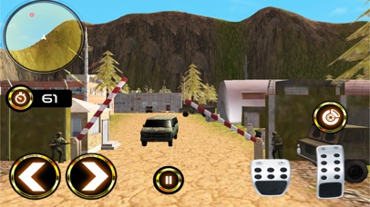 Army Criminal Transport Van 3D Скриншоты3