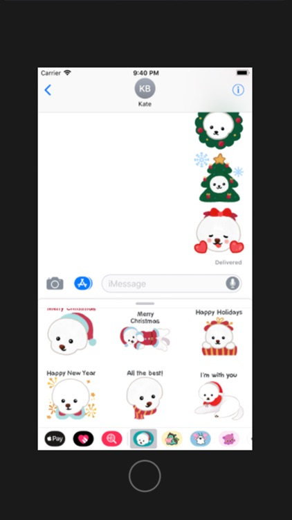 Christmas bichon Yallet screenshot-3
