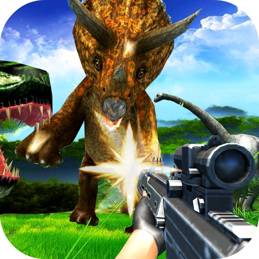 Wild Dino Shooting 3D iOS App