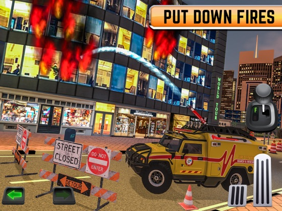 Emergency Driver Sim: City Hero на iPad