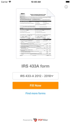 433a Form On The App Store