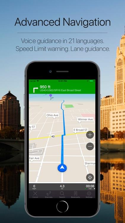Ohio, USA Offline Navigation screenshot-3
