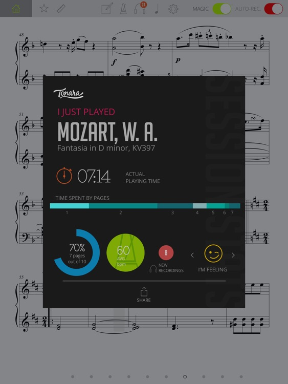 Interactive Piano Sheet Music screenshot-4