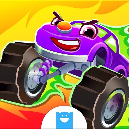 Веселые гоночные автомобили