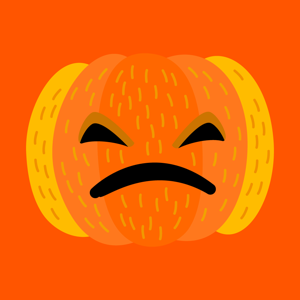 Happy Halloween Bloody Sticker - Social Networking app