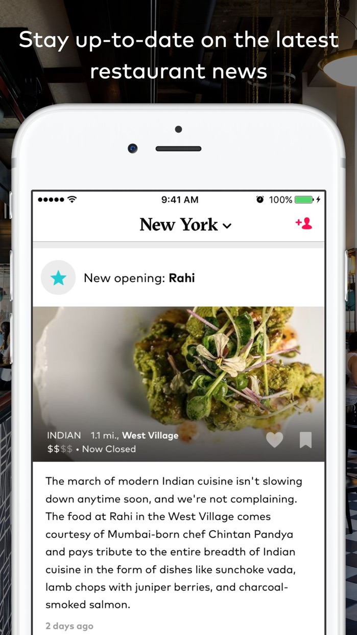 DINE by Tasting Table™ Screenshot