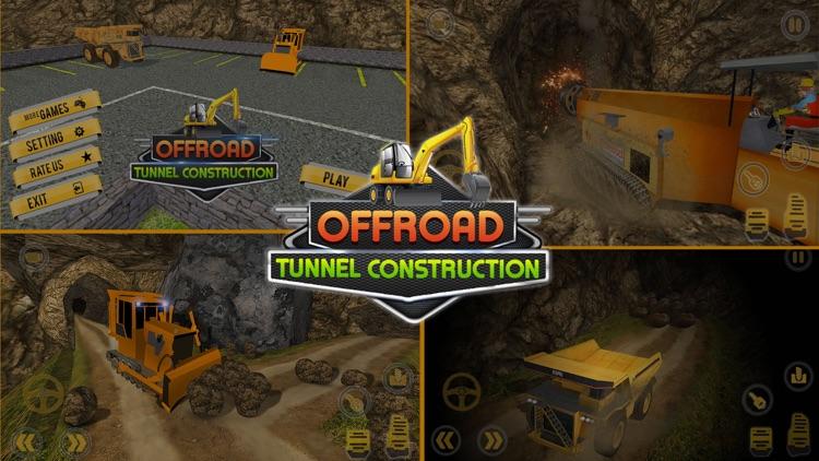Offroad Tunnel Construction screenshot-4