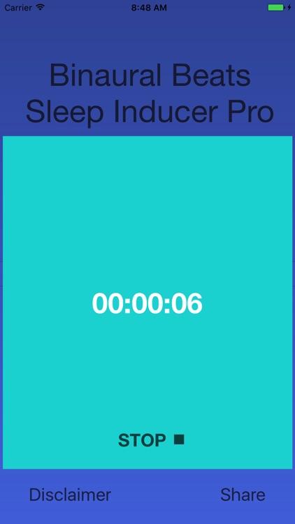 Binaural Sleep Inducer Pro screenshot-3