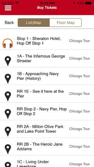 Hop On Hop Off Chicago Map.Chicago Trolley Tour On The App Store