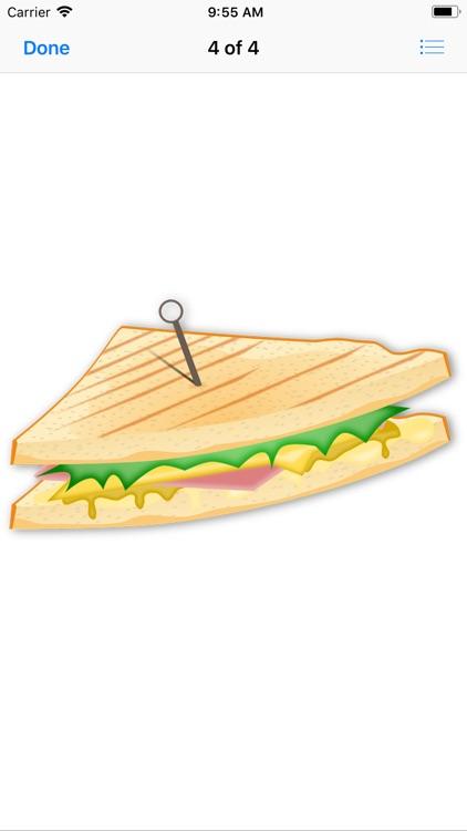 Scrumptious Sandwich Stickers screenshot-4