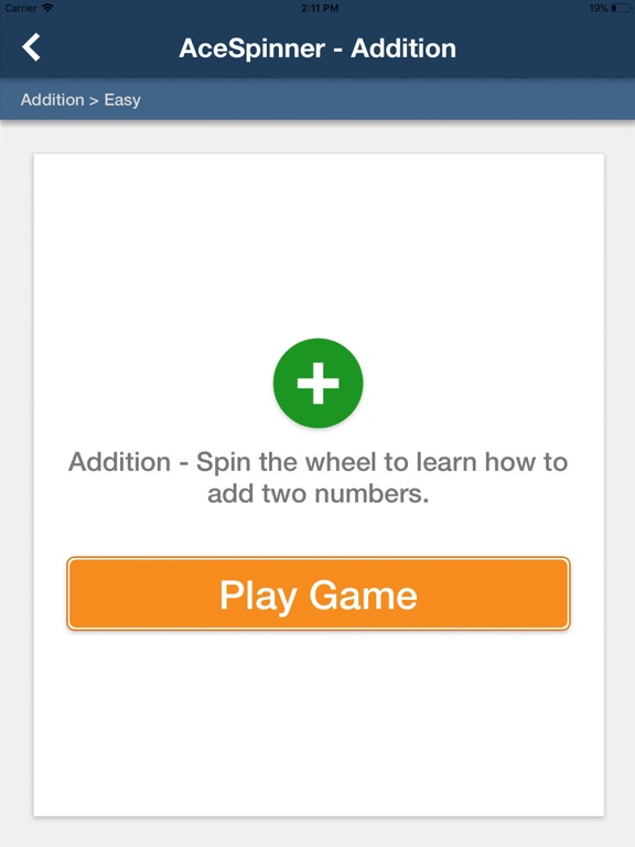 Ace Spinner Math Games Lite screenshot 9