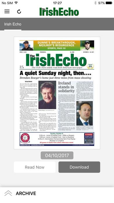 Irish Echo Screenshot