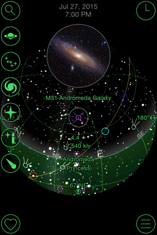 GoSkyWatch Planetarium - Astronomy Night Sky Guide screenshot 3
