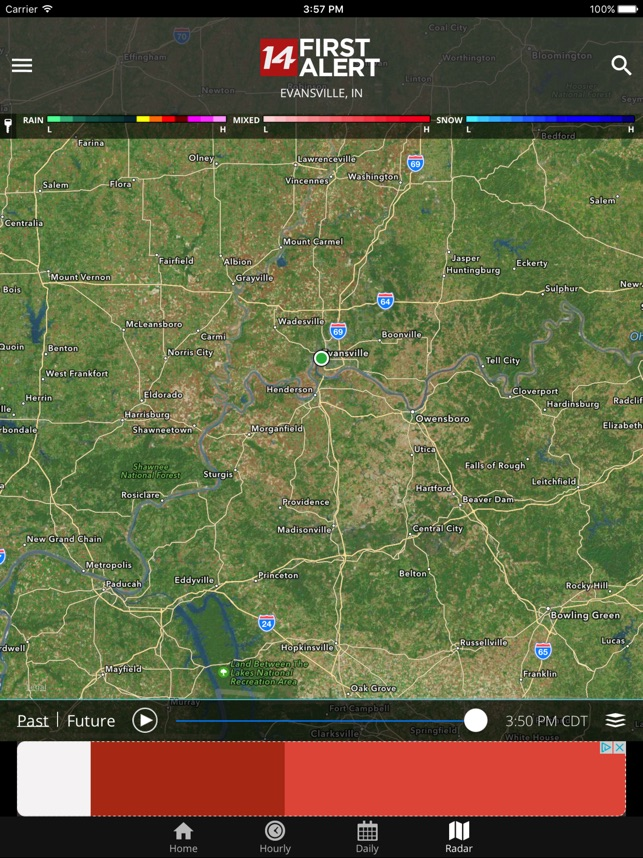 14FirstAlert Weather TriState on the App