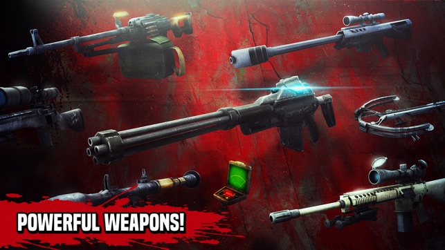 Zombie Hunter: Sniper Gun Game Screenshot
