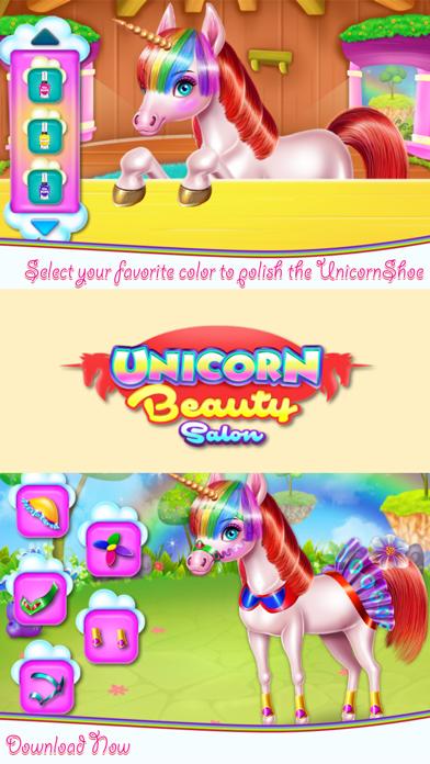 Unicorn Beauty Salon Screenshot