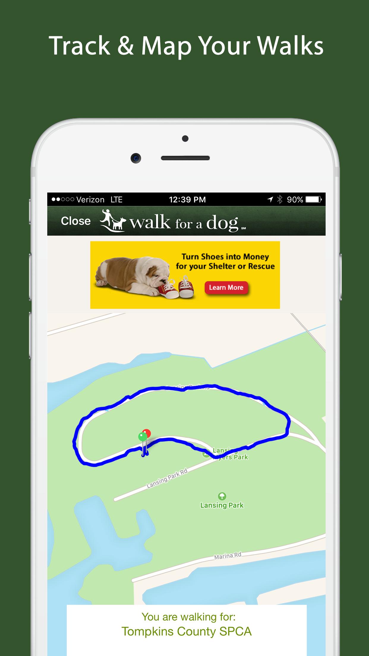 Walk for a Dog - Dog Walking Screenshot