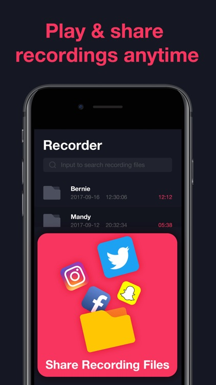 Call Recorder - Phone Calls screenshot-3