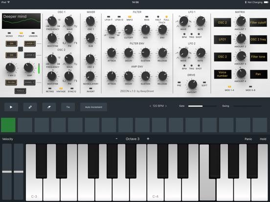 Screenshot #3 for Zeeon synth