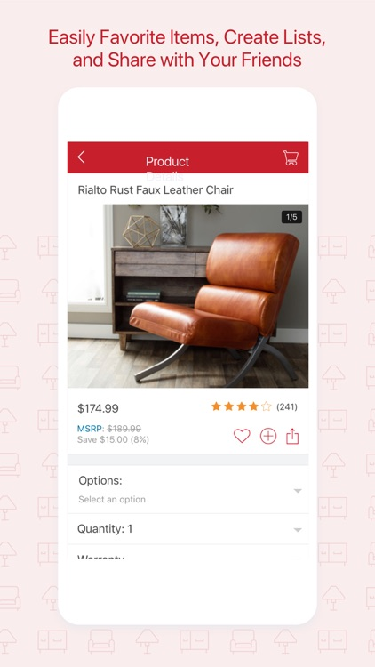 Overstock - Furniture, Home Décor, Daily Sales .. screenshot-3
